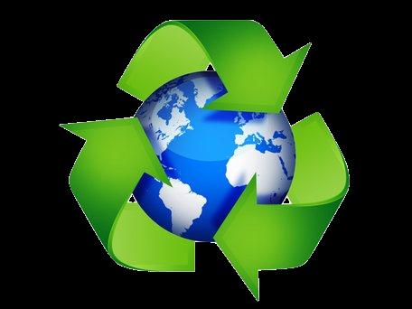 green recycling symbols 45798